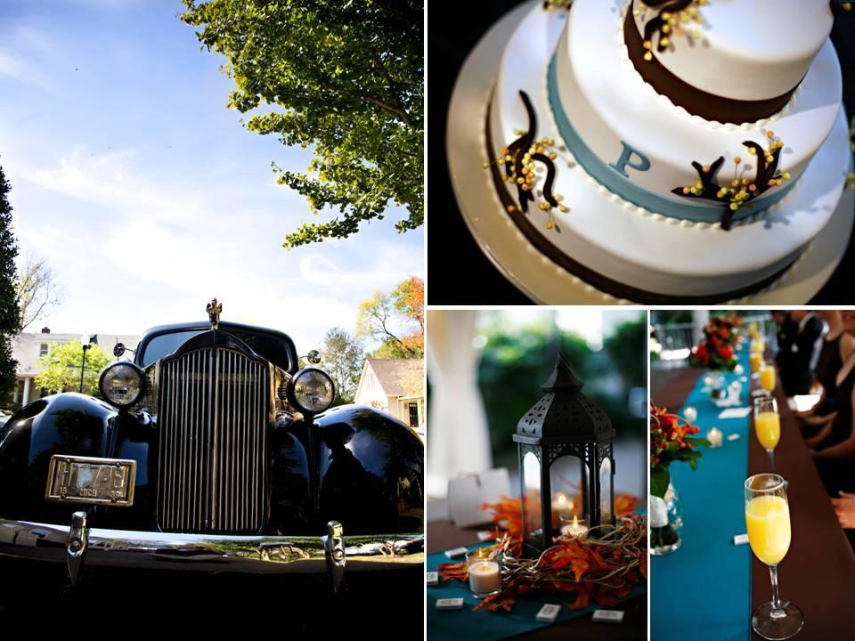 Fall-wedding-on-sunday-chic-wedding-transportation-white-wedding-cake.full