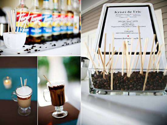 Plan a chic, budget-friendly wedding reception with a coffee and champagne brunch