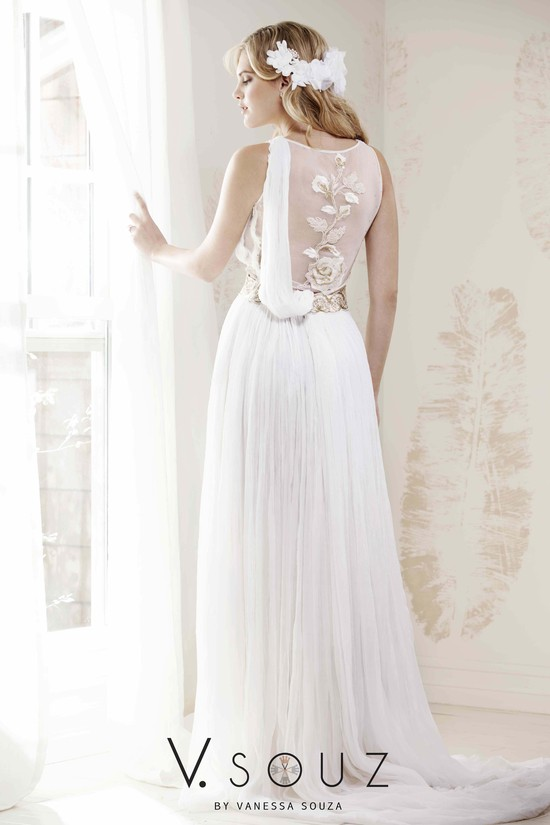 """Gorgo"" V. SOUZ wedding dress"