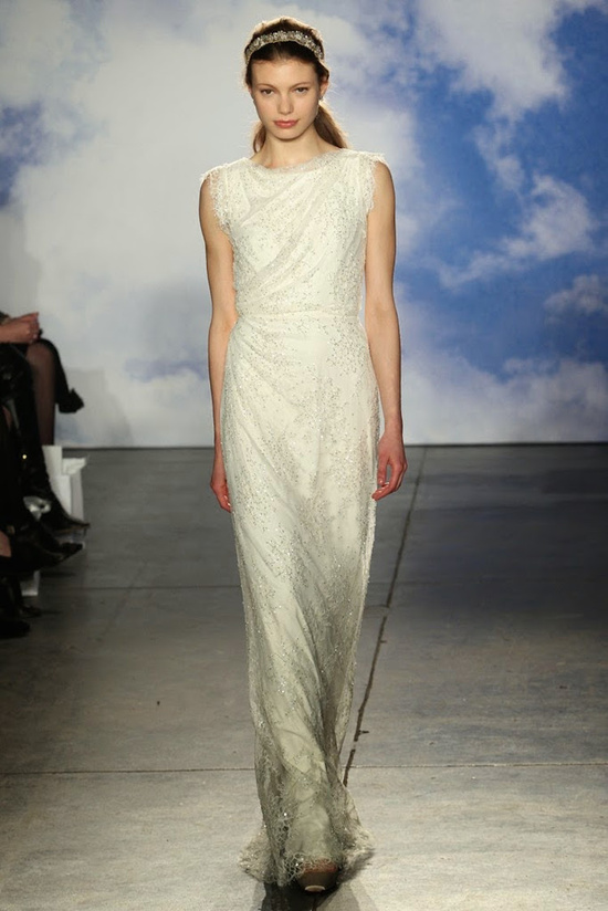 Grecian wedding gown from Jenny Packham