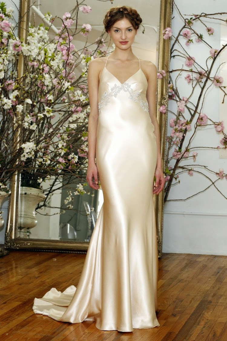Silk Slip Wedding Gown From Elizabeth Fillmore Full Jpg