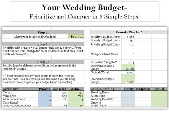 photo of Conquer Your Wedding Budget in 5 Simple Steps