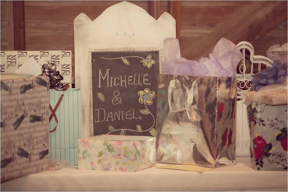 Sustainable 2011 wedding trend- chalkboards replace paper wedding reception stationery