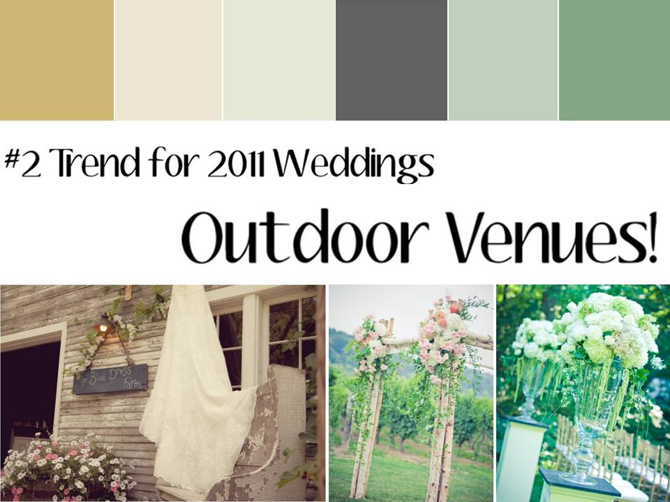 Top Garden Wedding Trends: Summer Wedding On The Lake At Private Residence