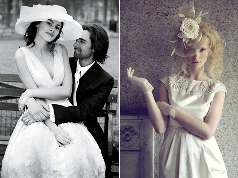 Bridal head wear from the UK- from fascinators to picture hats