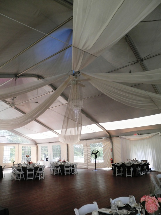 Chateau Tent Draping