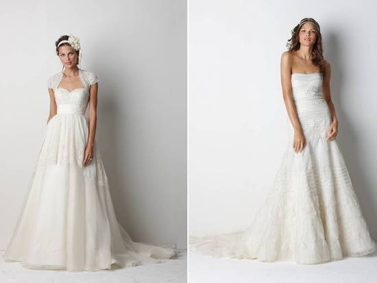 Gorgeous empire and a-line 2011 wedding dresses by Watters