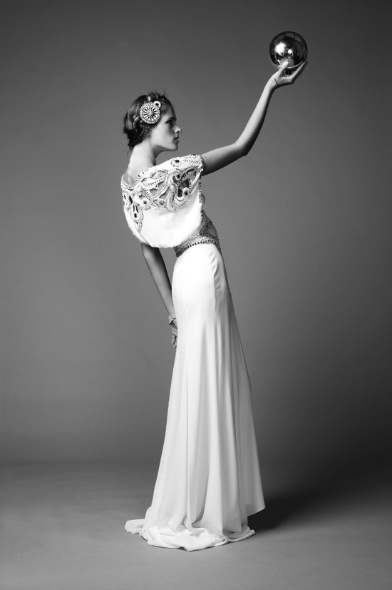 photo of Ethereal 2011 wedding dress from Temperley London- vintage inspired and beautifully embellished