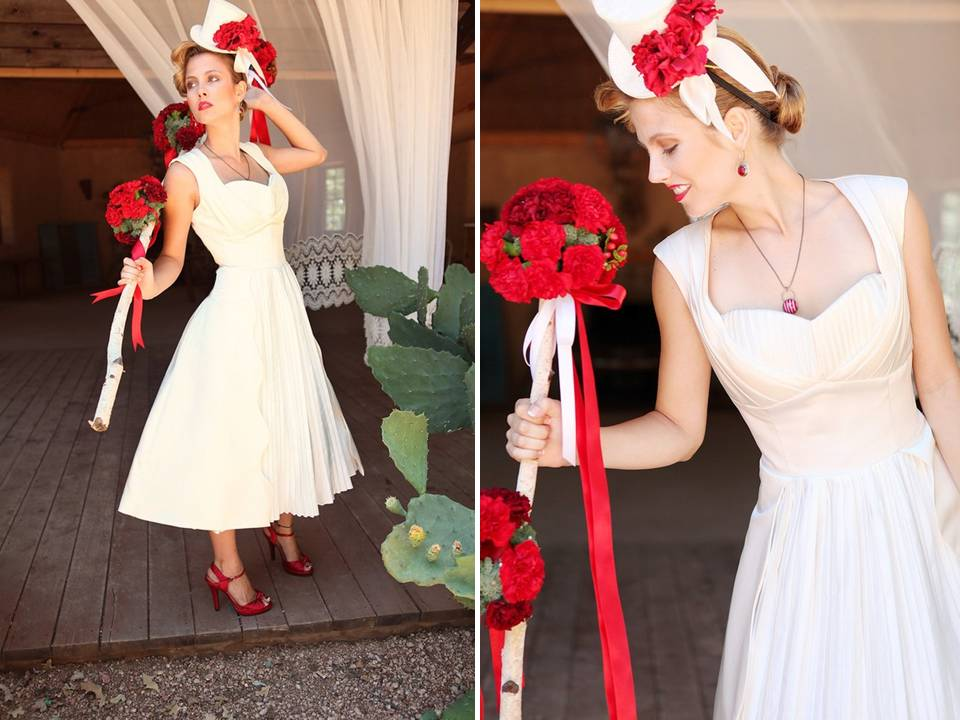 Bees i need dress inspiration pictures for Red tea length wedding dress