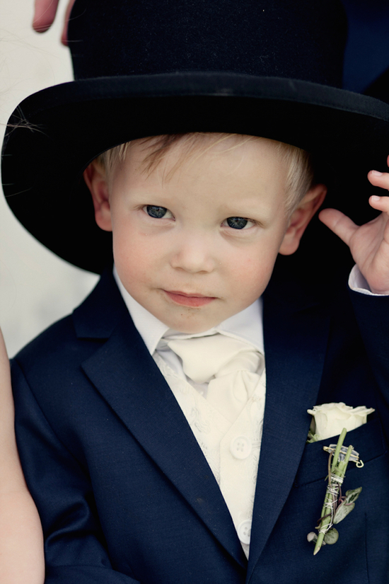 Cute Norwegian ring bearer
