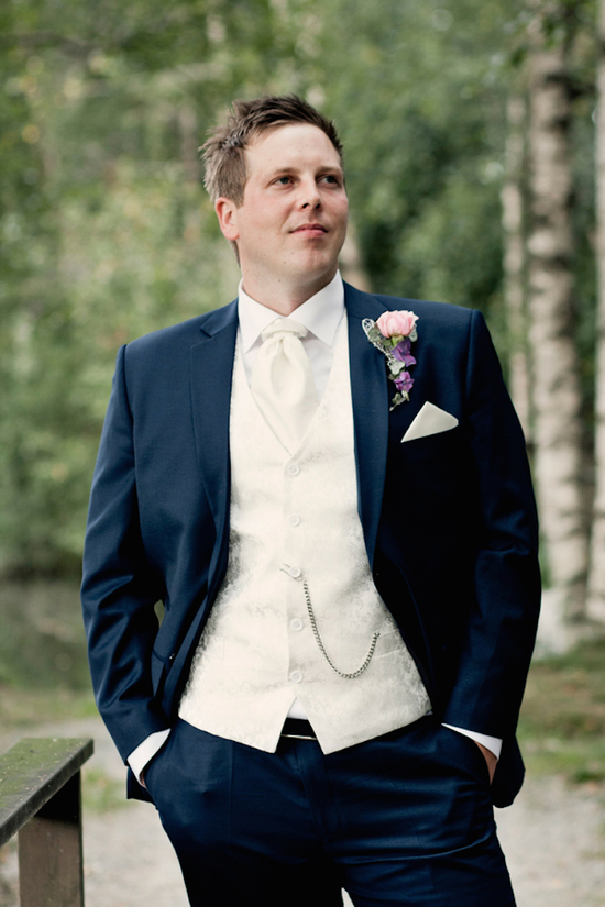 Norwegian groom