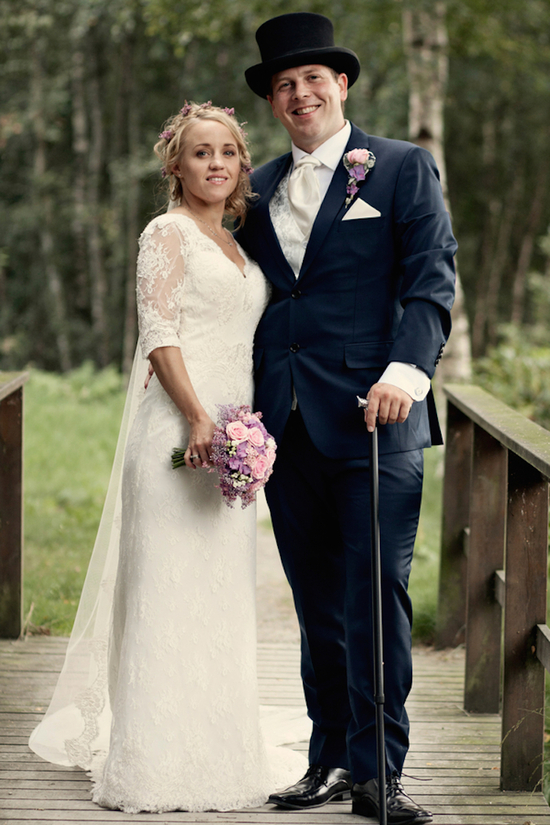 Norwegian wedding couple