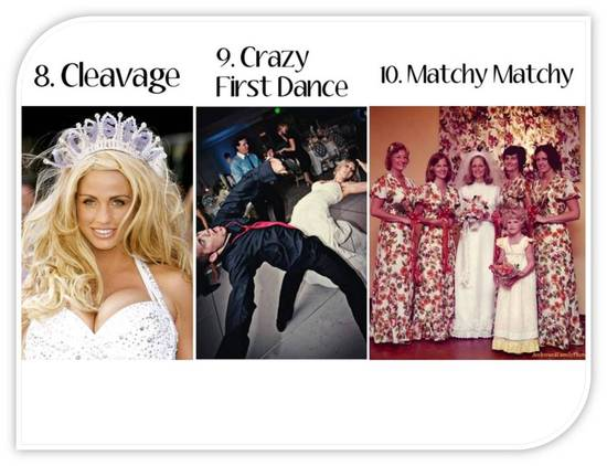 photo of What's Out for 2011 Weddings- Ditch These Top 10 Trends from the Past!