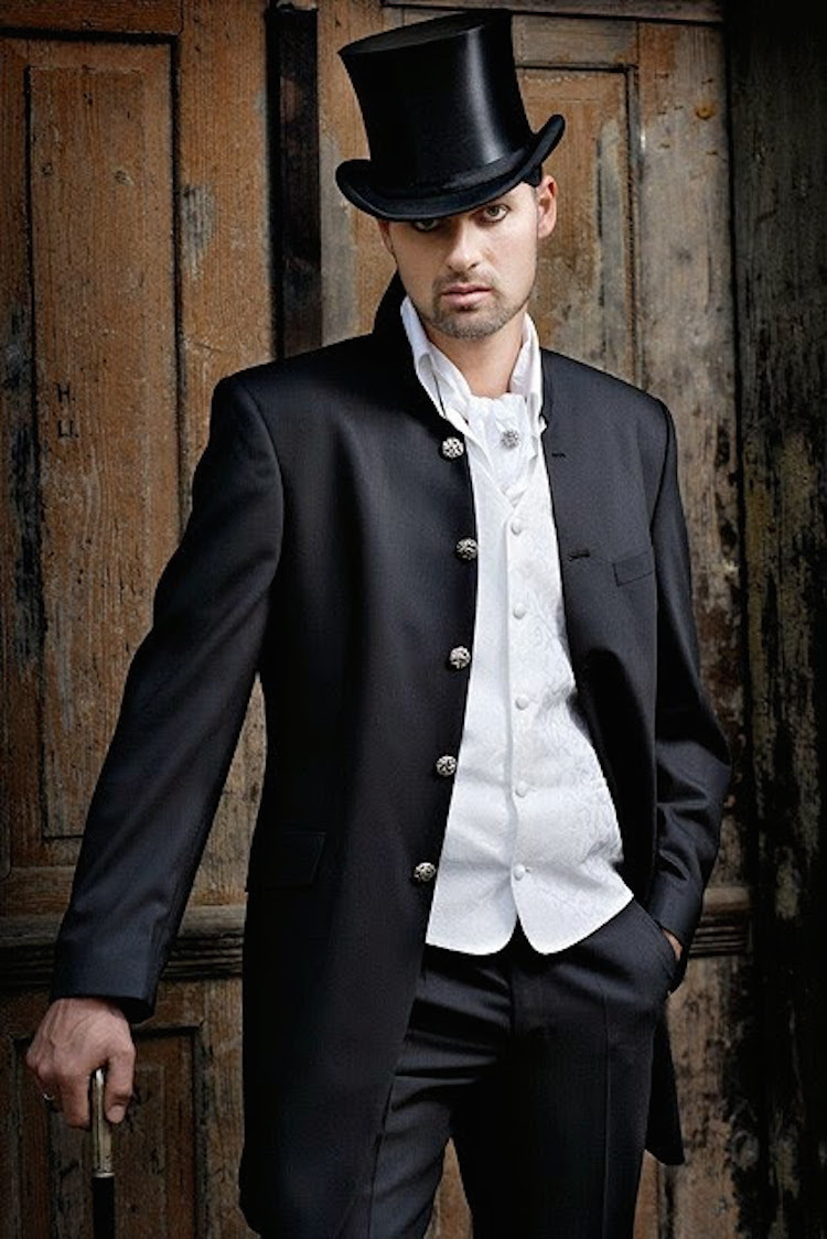 Old fashioned tuxedo from Wedding Gowns