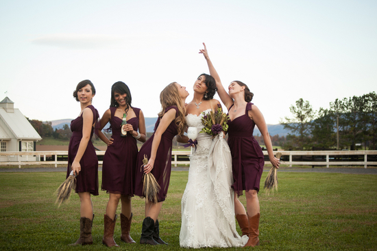 Fun bridesmaids picture