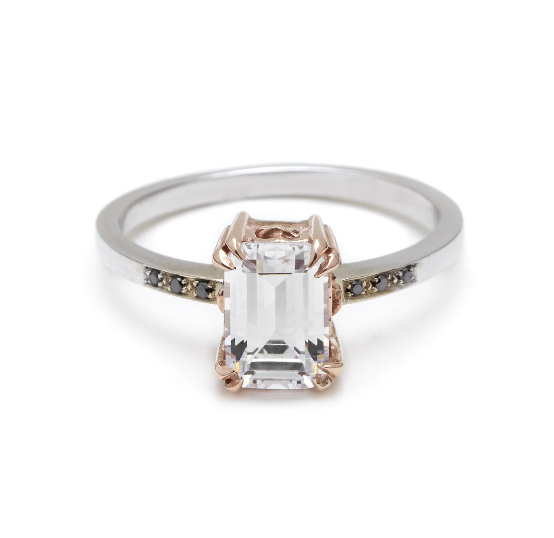 Emerald Cut Wedding Rings 006 - Emerald Cut Wedding Rings
