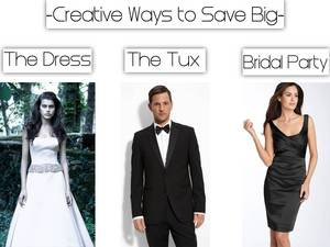 photo of Creative Ways to Save Money on Your Wedding Attire