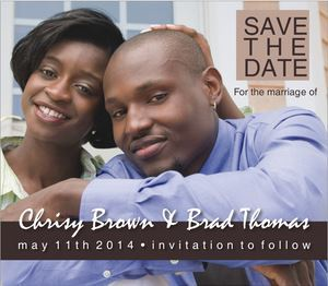 Save the Date Full Color Magnet