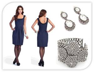 photo of Royal, Navy, Midnight, Sapphire- Dark Blues are On-Trend for 2011 Weddings!