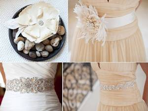 photo of BCGirls bridal belts and accessories