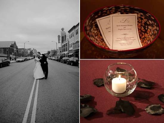 photo of Eclectic Real Wedding in St. Louis, Missouri- Nicci and Doug