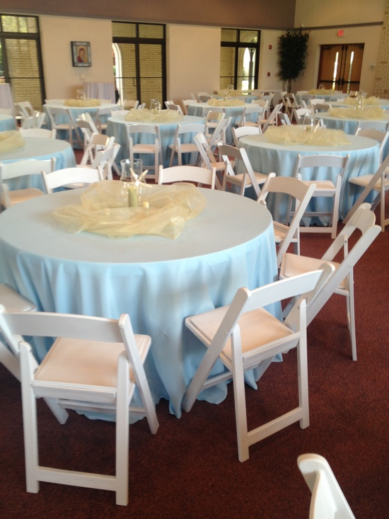Linen and Chair Rental