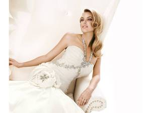 photo of 2011 Simone Carvalli Wedding Dresses- Couture Details, Sophisticated Silhouettes