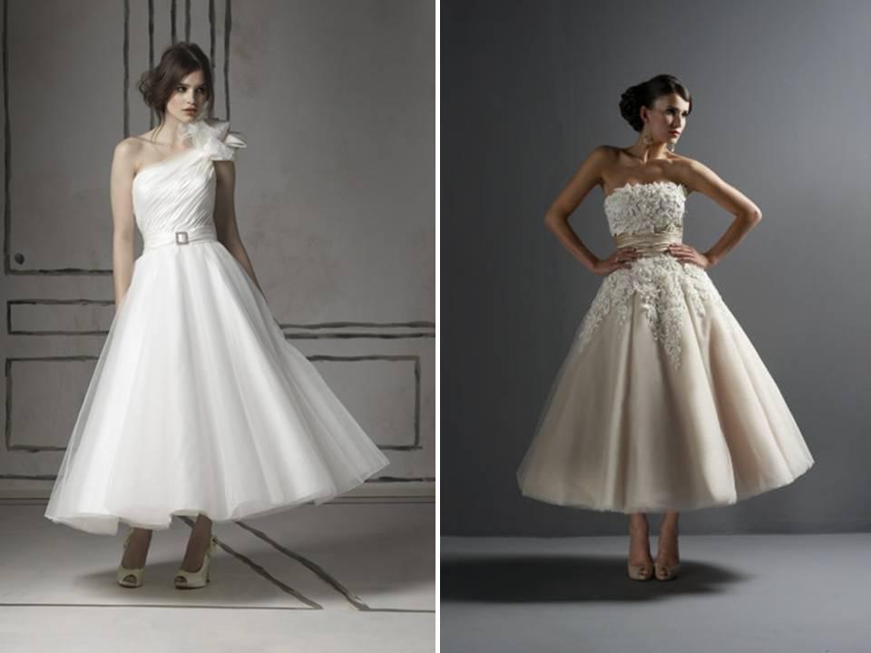 2011-wedding-dress-bridal-style-trend-tea-length-dresses-full-tulle-skirt-mad-men-chic-justin-alexander.full