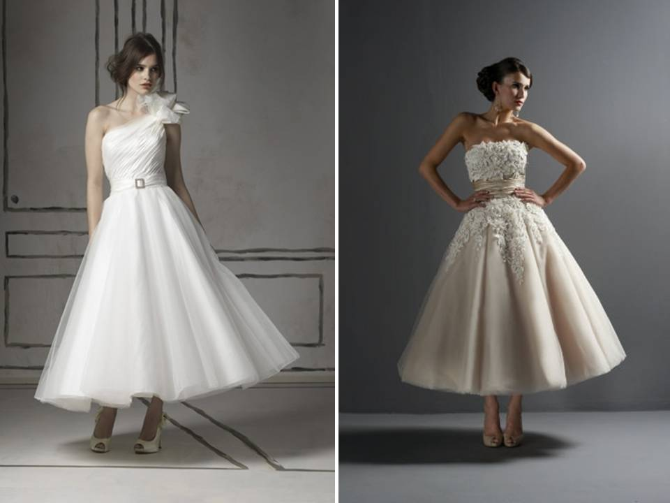 2011-wedding-dress-bridal-style-trend-tea-length-dresses-full-tulle-skirt-mad-men-chic-justin-alexander.original