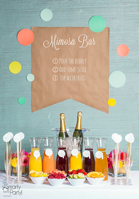 Setting-up-a-mimosa-bar-smarty-had-a-party