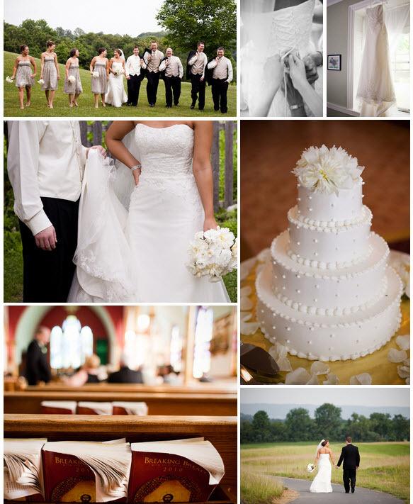 Real-new-jersey-wedding-details-ceremony-program-wedding-white-lace-wedding-dress-ivory-bridal-bouquet.full