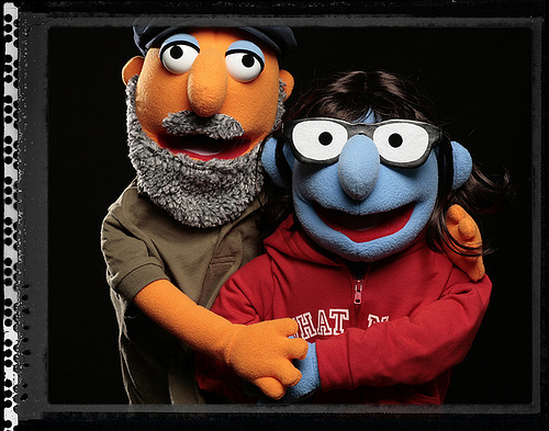 photo of Uber-Creative 2010 Engagement Proposal- The Muppets Take On Marriage!