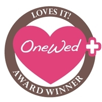 To sponsor a weekly Savvy Steal giveaway, just click our OneWed Loves It! seal of approval