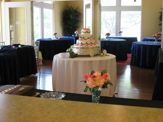 A Wedding Reception in the Visitor Center
