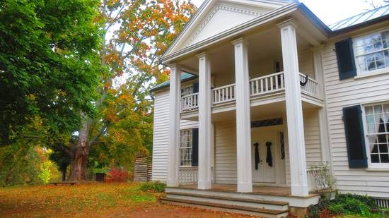 The Home during a gorgeous Tennessee Fall
