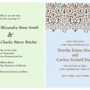 Eco Chic Paperless Wedding Invitations With Modern Designs