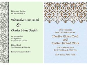 photo of Go Green with Paperless Wedding Invitations