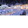 How-to-create-a-winter-wonderland-wedding-reception-decor-planning-high-floral-topiaries-blue-lighting.square