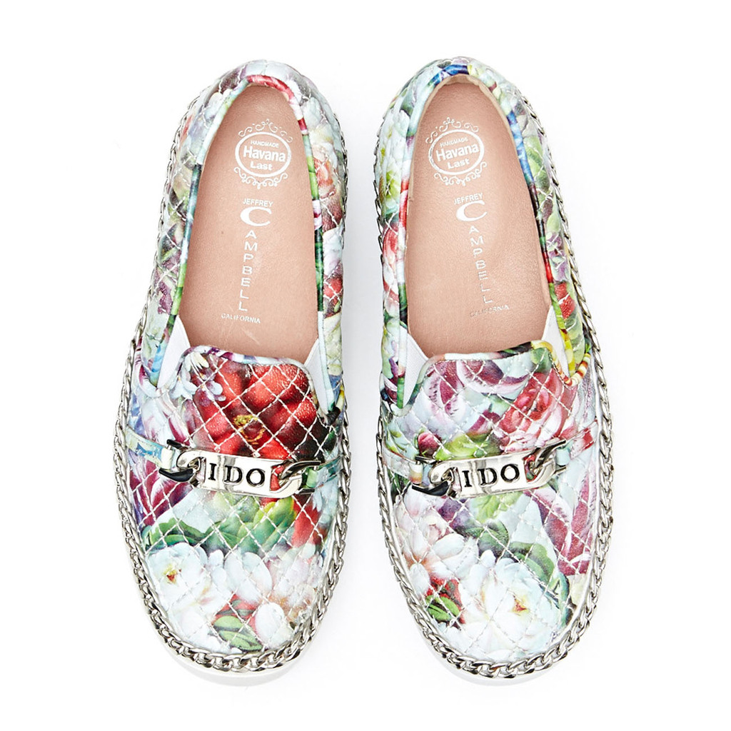 COLD FEET BY JEFFREY CAMPBELL-ALVA- I DO-FLORAL-THUMB-A