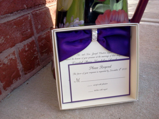 Boxed Invitation