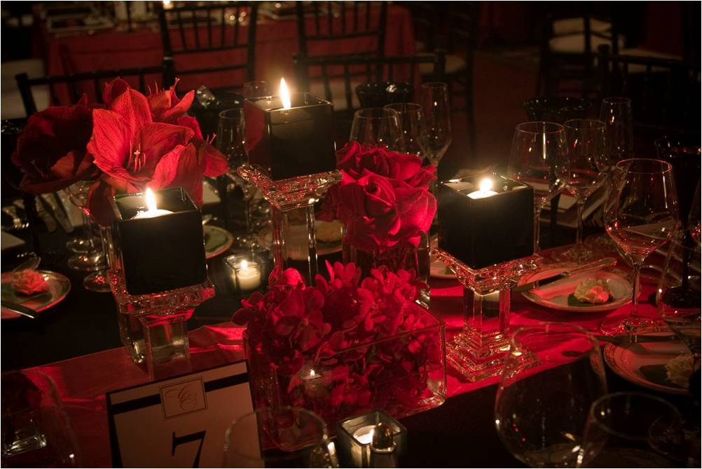 Romantic-chicago-wedding-at-the-drake-red-black-color-palette.full