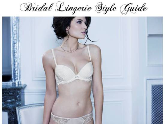 Find French lingerie perfect for your wedding day
