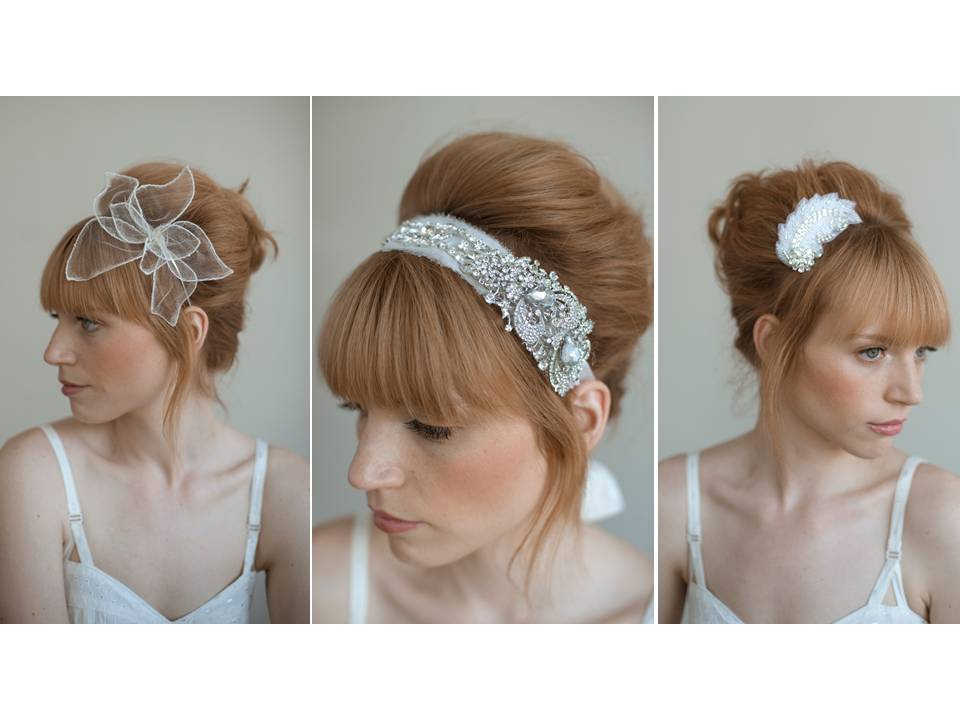 Bridal Style Inspiration- Headbands, Hair Accessories and Veils