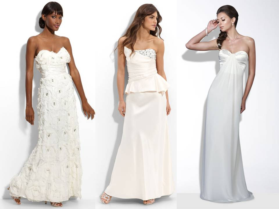 Chic sophisticated 2011 wedding dresses from nordstrom 39 s for Nordstrom dresses for wedding