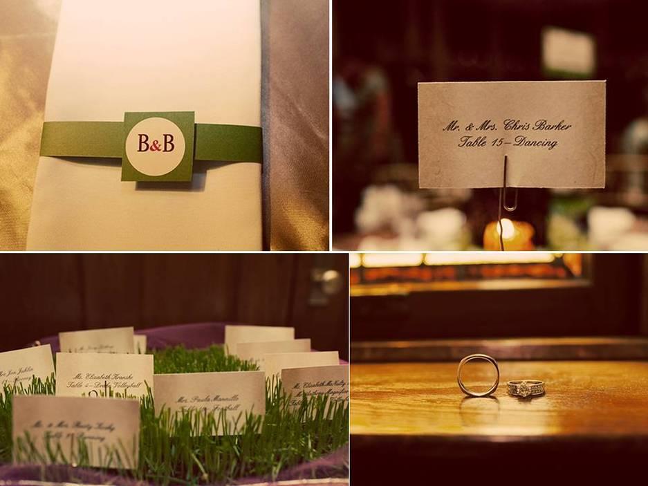 Enchanted garden wedding reception decor and reception fun on ...