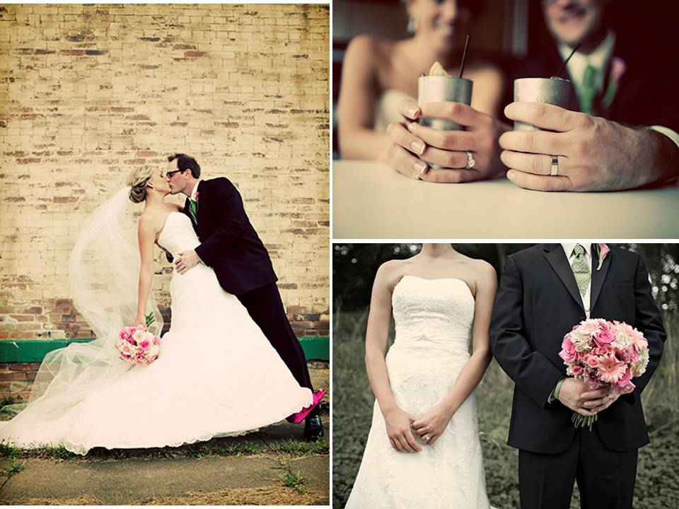 Real-iowa-wedding-outdoor-fall-romantic-pink-bridal-bouquet-engagement-rings-wedding-bands.full