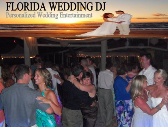 Beach Wedding Sarasota  by  Florida Wedding DJ
