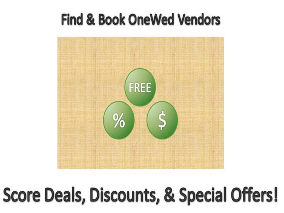 Book-onewed-vendors-to-score-deals-discounts-freebies-wedding-budget-ideas.full
