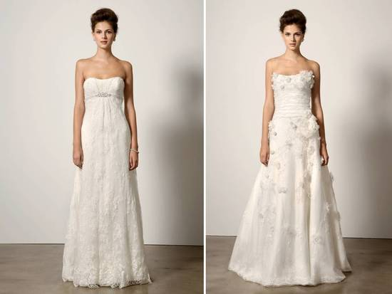 Romantic timeless wedding dresses by Ines di Santo