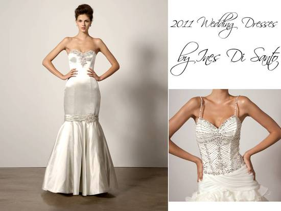 Elegant 2011 wedding dresses by Ines di Santo